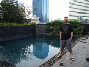 Oakwood Rooftop Pool