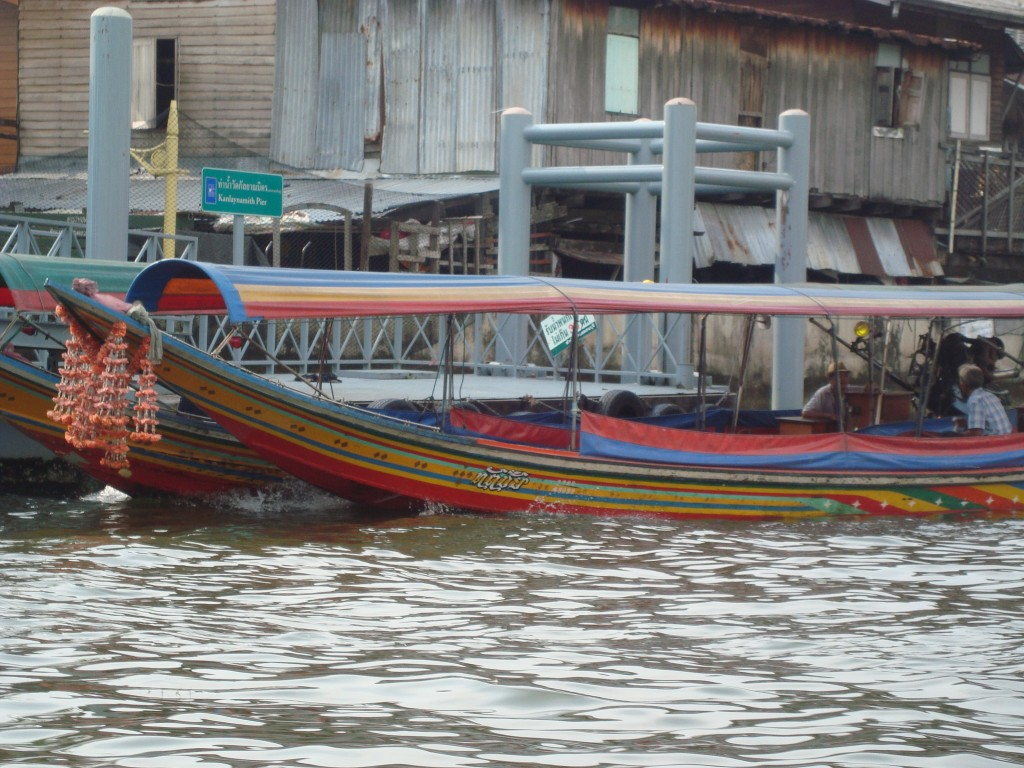 Khlong Boats Bangkok