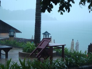 Rainy Day on Ko Samui