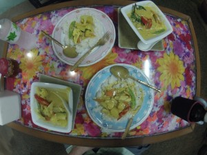 Yellow Curry with Chicken and Potatoes