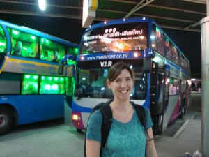 VIP Overnight Bus to Chiang Mai
