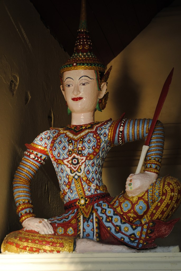 Another of the many statues at Doi Suthep