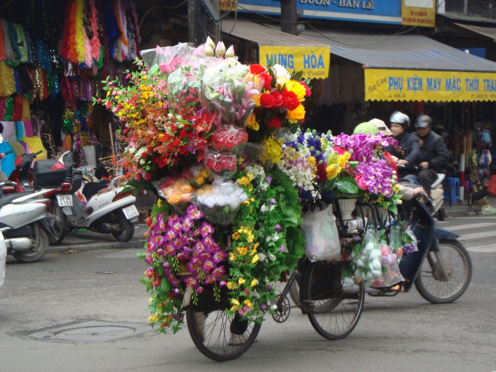 We were really impressed with the sheer quantity of things the Vietnamese loaded onto bicycles and motorbikes.