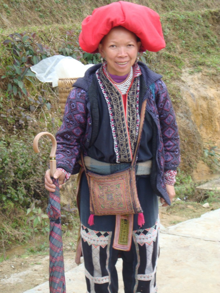 May, a Red Dao hill tribe minority who befriended us and followed us for several hours on our hike until we stopped for lunch.