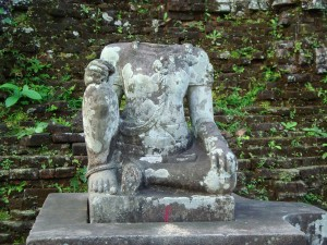 Shiva. Looters always seemed to destroy or steal the heads from all of the ruins we visited.