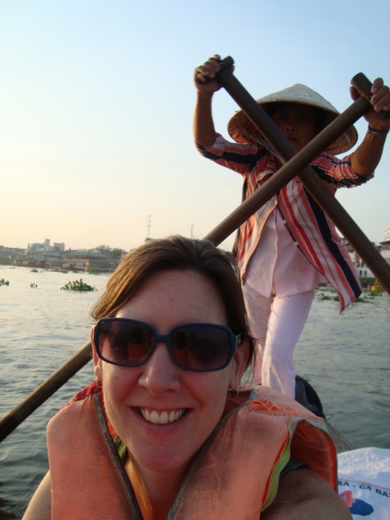 Woman-powered boat ride